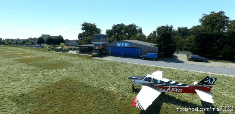 Airport WYK AUF FöHR (Edxy) | With Helipad Lights! for Microsoft Flight Simulator 2020