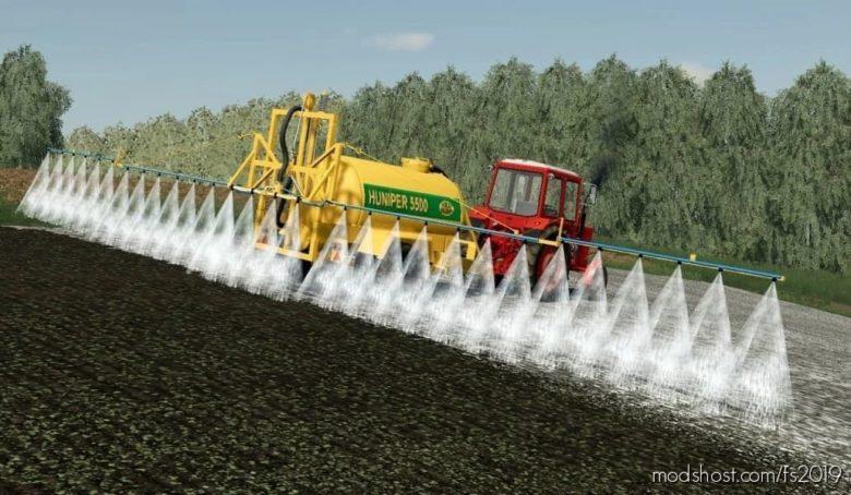 Huniper 5500 Sprayer for Farming Simulator 19