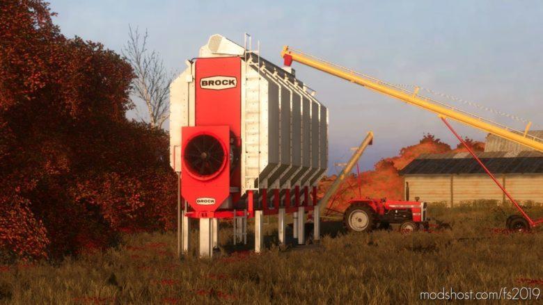 Brock Grain Dryer Hotfix V1.1 for Farming Simulator 19