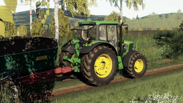 John Deere 6030 Series Full Sounds Pack (Prefab) for Farming Simulator 19