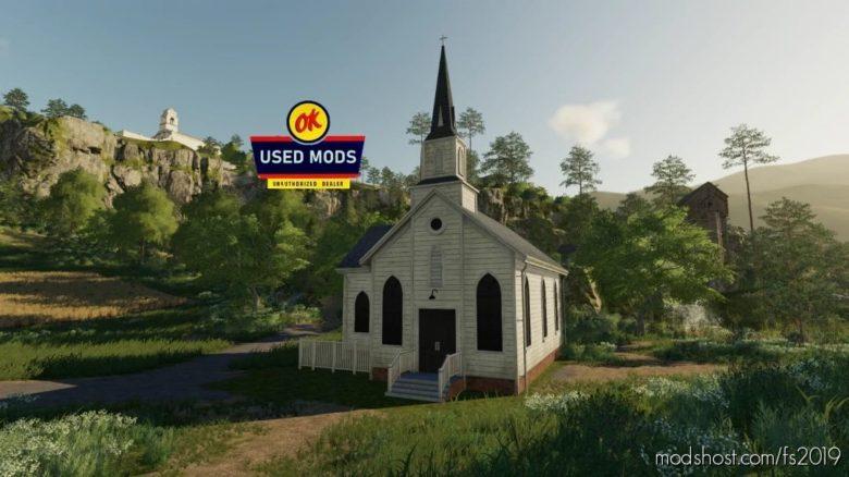 Placable Church for Farming Simulator 19