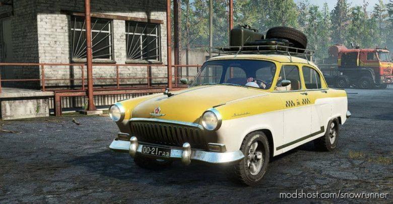 GAZ-21 Volga V1.0.4 for SnowRunner