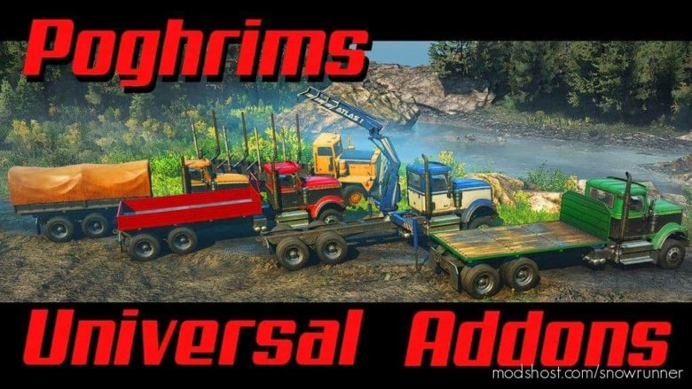 Poghrims Universal Addon Collection V1.0.2 for SnowRunner