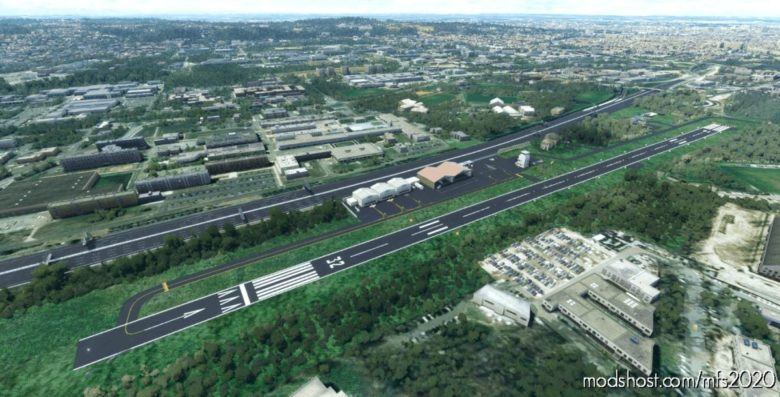 Lfio – Montaudran Historical Airport (100% Custom Fictional) for Microsoft Flight Simulator 2020