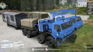 Kraz Sibir Truck V0.1 for MudRunner