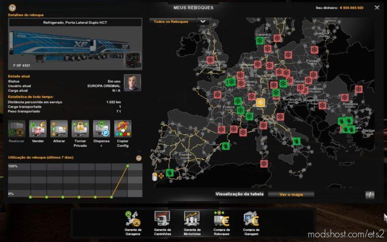 Profile Euro Truck Simulator 2 [1.40.4.8S] for Euro Truck Simulator 2