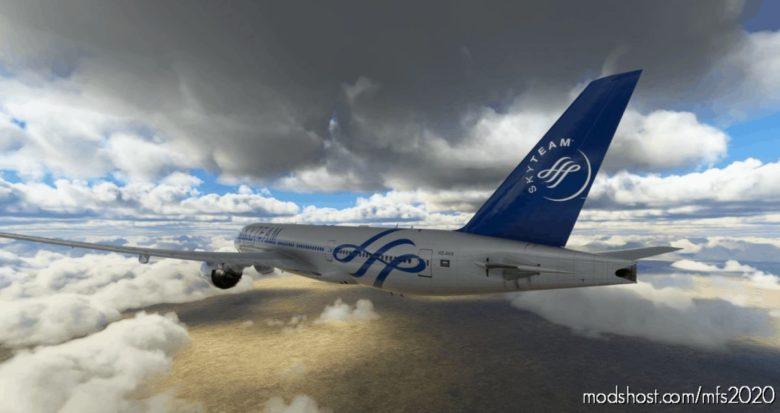Captain SIM B777-200 Saudia Skyteam Hz-Aka | 4K for Microsoft Flight Simulator 2020