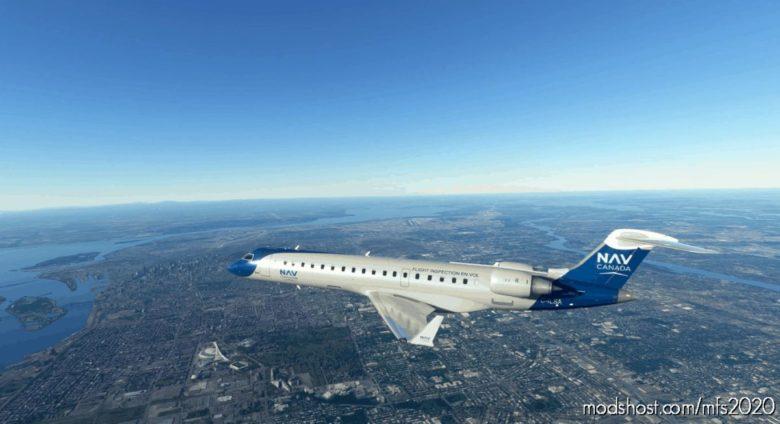 CRJ-700 NAV Canada for Microsoft Flight Simulator 2020