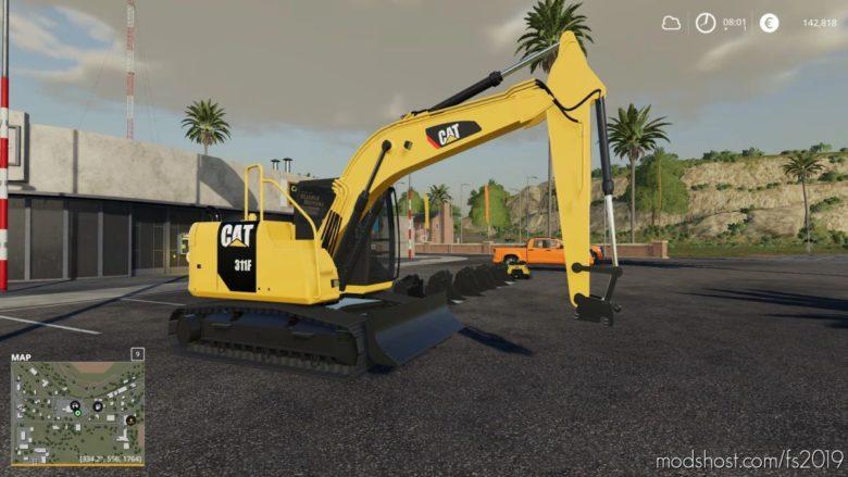 CAT 311F for Farming Simulator 19