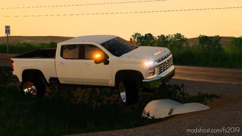 2020 Chevy Edit Of Artist Jack Modding Truck for Farming Simulator 19