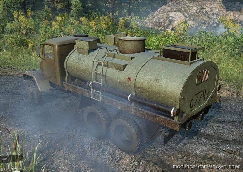 Gapa 6×6 Army Truck V for SnowRunner