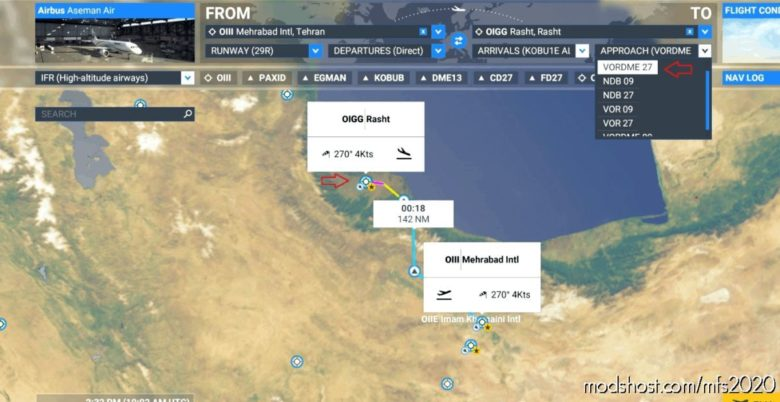 (Oigg ) Rasht Airport Re-Work V2.0 for Microsoft Flight Simulator 2020