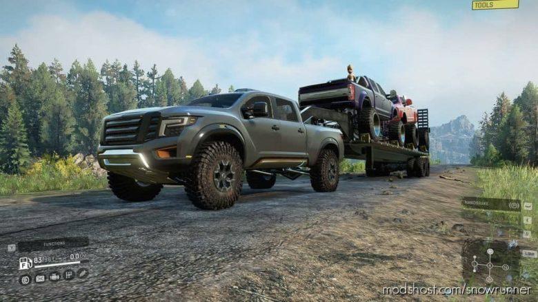 Truckster V for SnowRunner