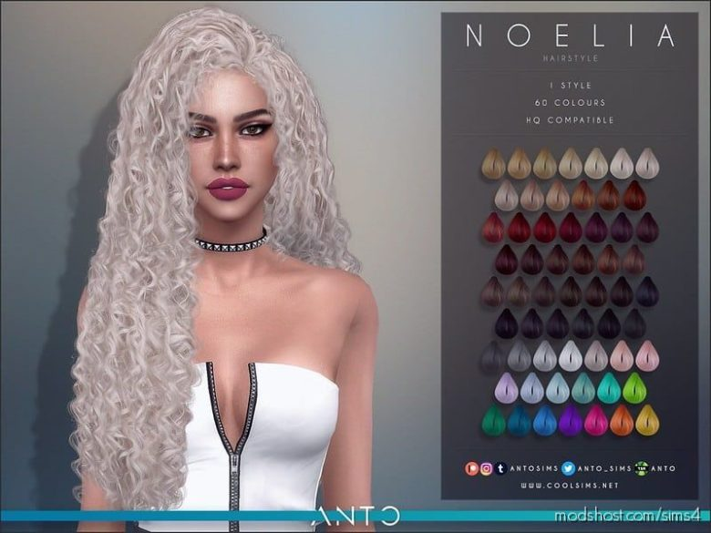 Anto – Noelia for The Sims 4