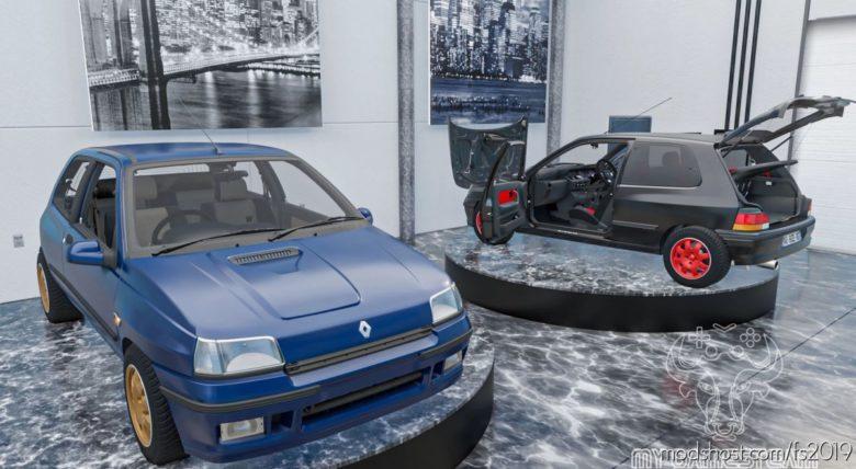 Renault Clio 1 Williams 1993 for Farming Simulator 19