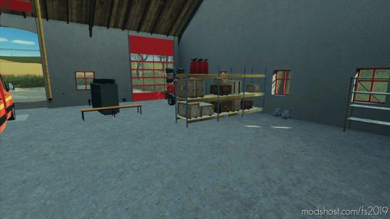 Fire Department Willersdorf V1.1 for Farming Simulator 19
