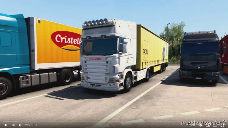Scania R & Streamline V8 Stock Sound V5.0 [1.41] for Euro Truck Simulator 2