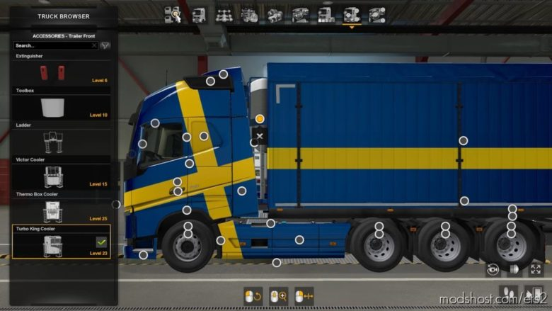 Volvo FH16 2012 Mega Mod By Rpie [1.40.4.8S] for Euro Truck Simulator 2