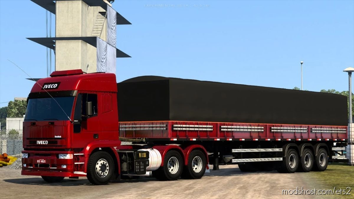 Iveco Stralis (Eurotech) Brazil Edit [1.41] for Euro Truck Simulator 2