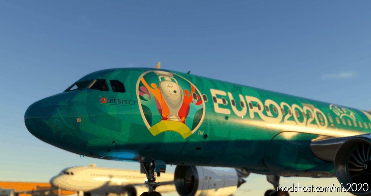 FBW A32NX Euro2020 for Microsoft Flight Simulator 2020