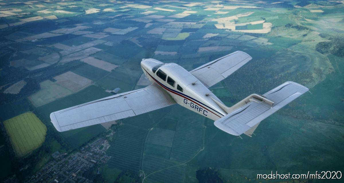 Justflight Piper P28R Turbo Arrow IV 55 Edition G-Grfc for Microsoft Flight Simulator 2020