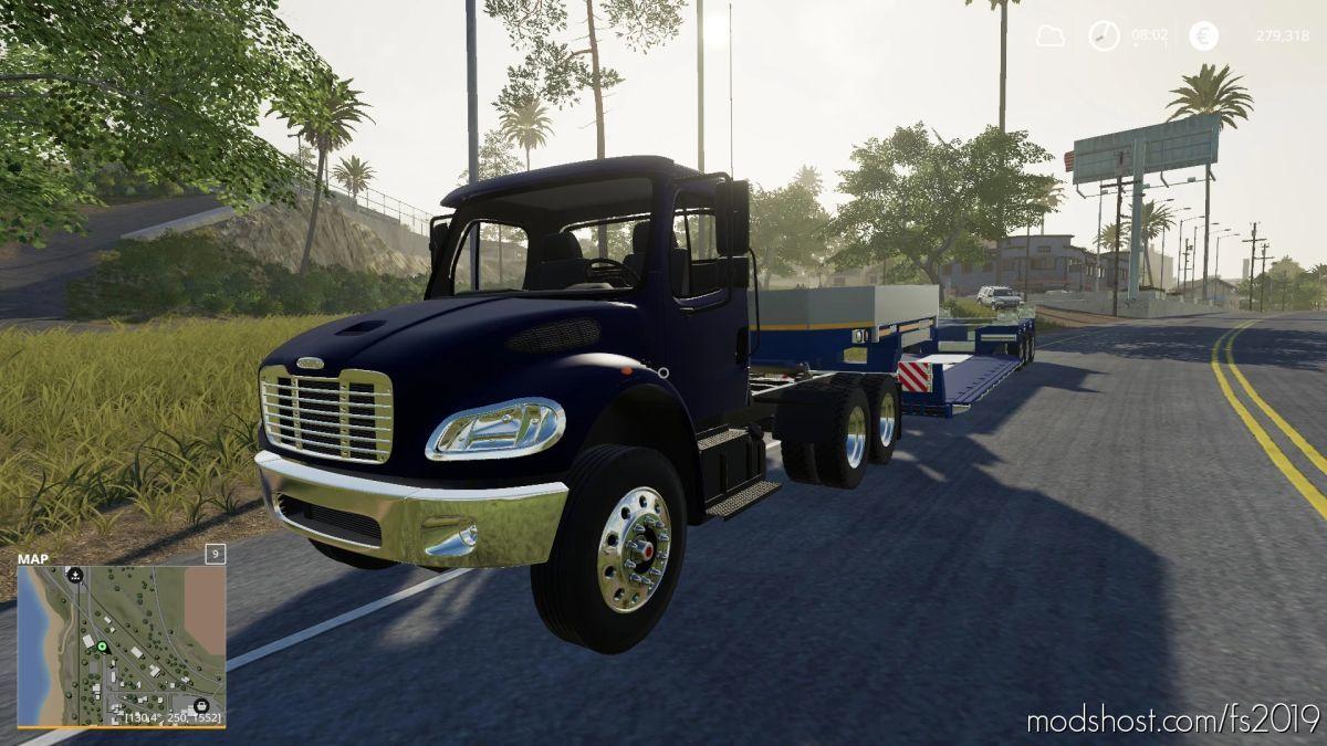Freightliner Semi for Farming Simulator 19