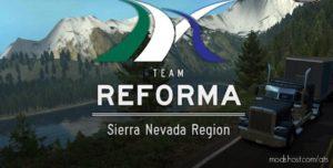 Sierra Nevada Map V2.2.35 [1.40.X] for American Truck Simulator