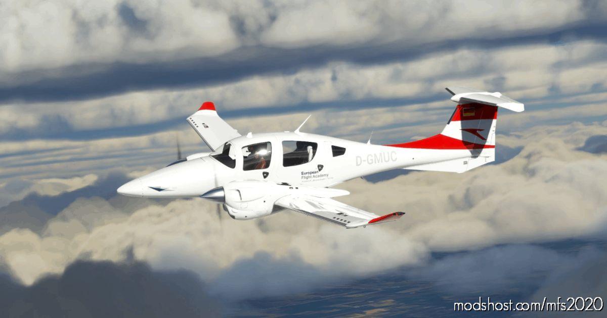 European Flight Academy For DA62 D-Gmuc V1 for Microsoft Flight Simulator 2020