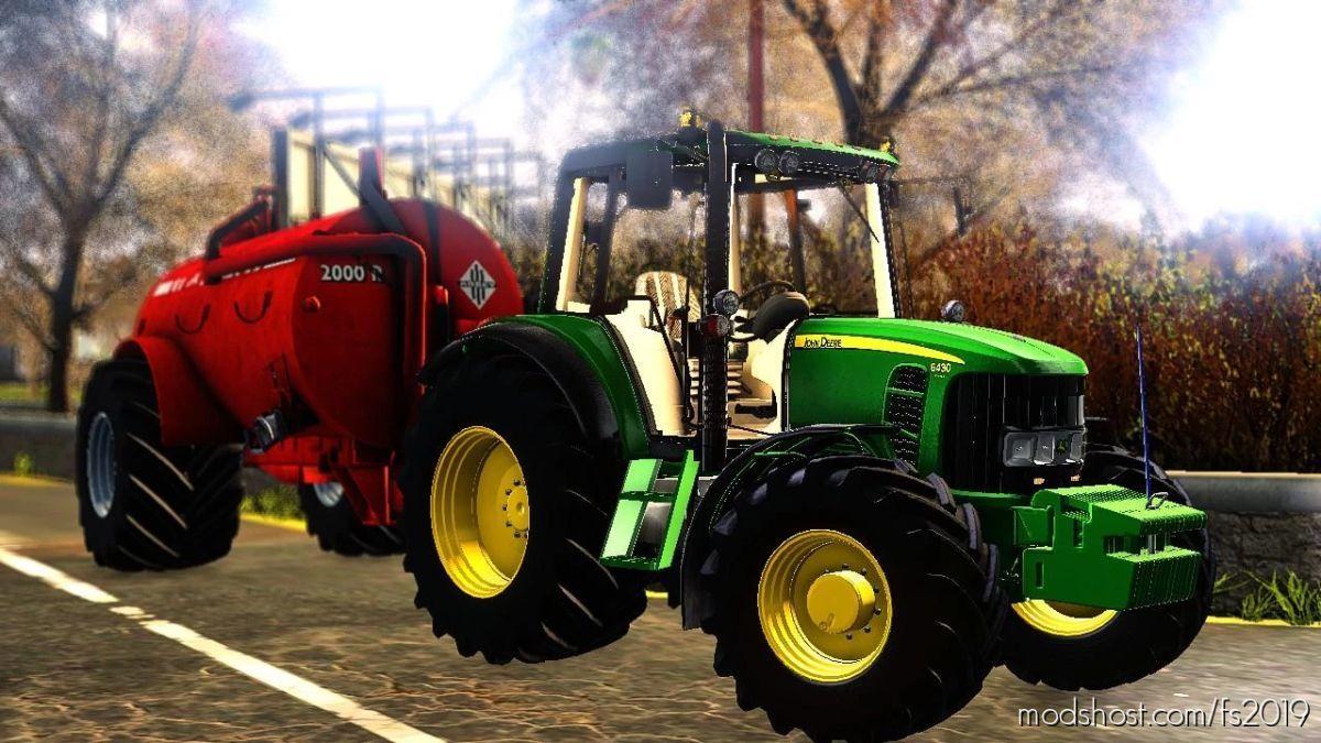 John Deere 6430 BEN Scollan Edition for Farming Simulator 19