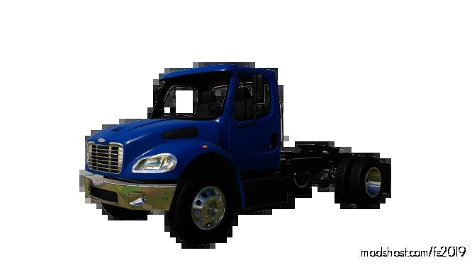 Freightliner M2 Single Axle for Farming Simulator 19