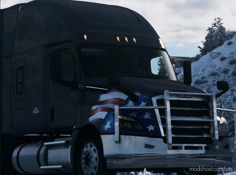 Freightliner Cascadia Bullbar for American Truck Simulator