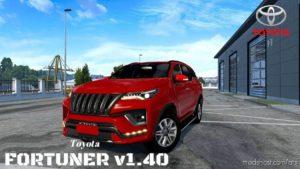 Toyota Fortuner + Interior [1.40.X] for American Truck Simulator