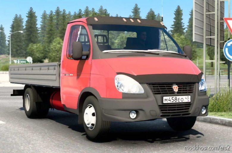 GAZ Gazelle [1.40.4.8S] for Euro Truck Simulator 2
