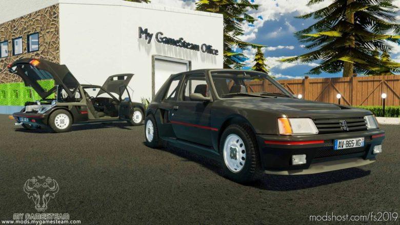 Peugeot 205 Turbo 1984 for Farming Simulator 19