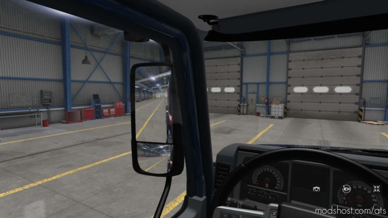 Mack Anthem New Mirrors for American Truck Simulator