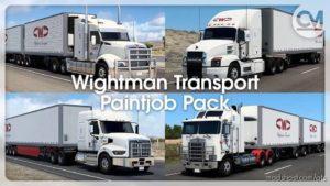 Wightman Transport Paintjob Pack V1.0.1 for American Truck Simulator