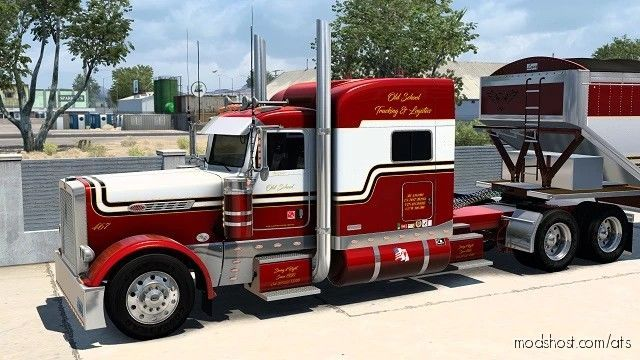 OLD School Skin For Peterbilt 389 for American Truck Simulator