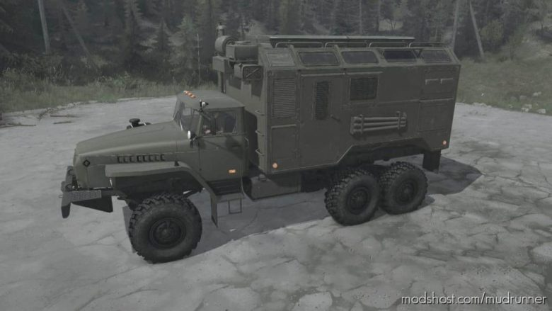 Ural-4320 Truck V06.06.21 for MudRunner