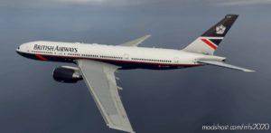 British Airways Landor And 100 Years Captainsim 777-200ER 8K for Microsoft Flight Simulator 2020