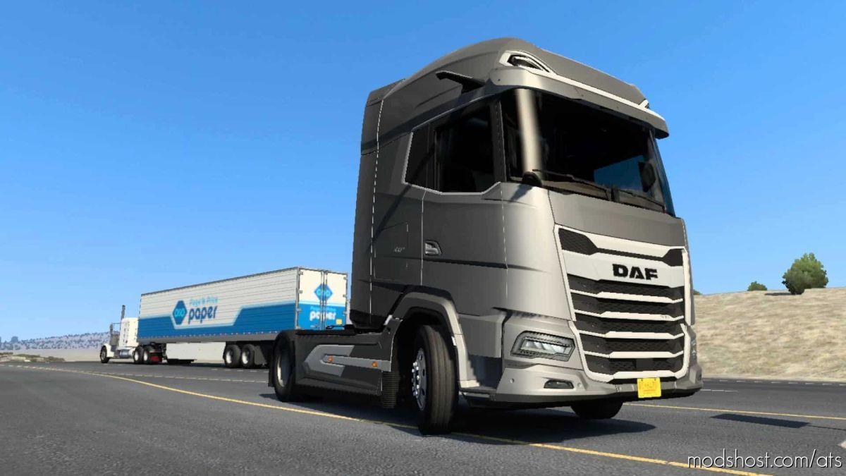 DAF 2021 GF & GF+ for American Truck Simulator