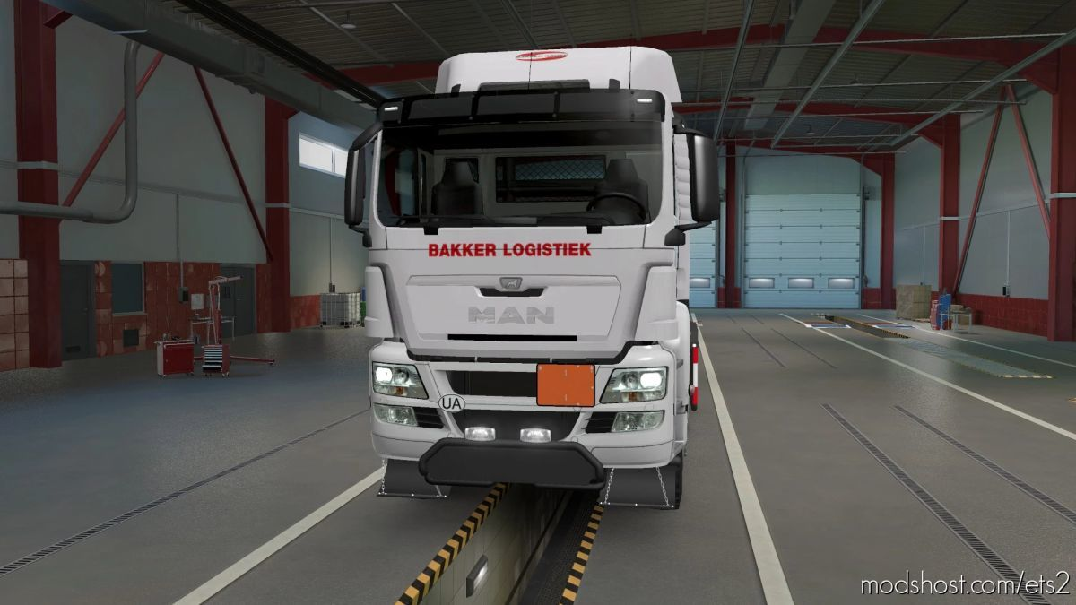 MAN Euro 5 Heavy Duty Truck 1.4.0.5S+ for Euro Truck Simulator 2