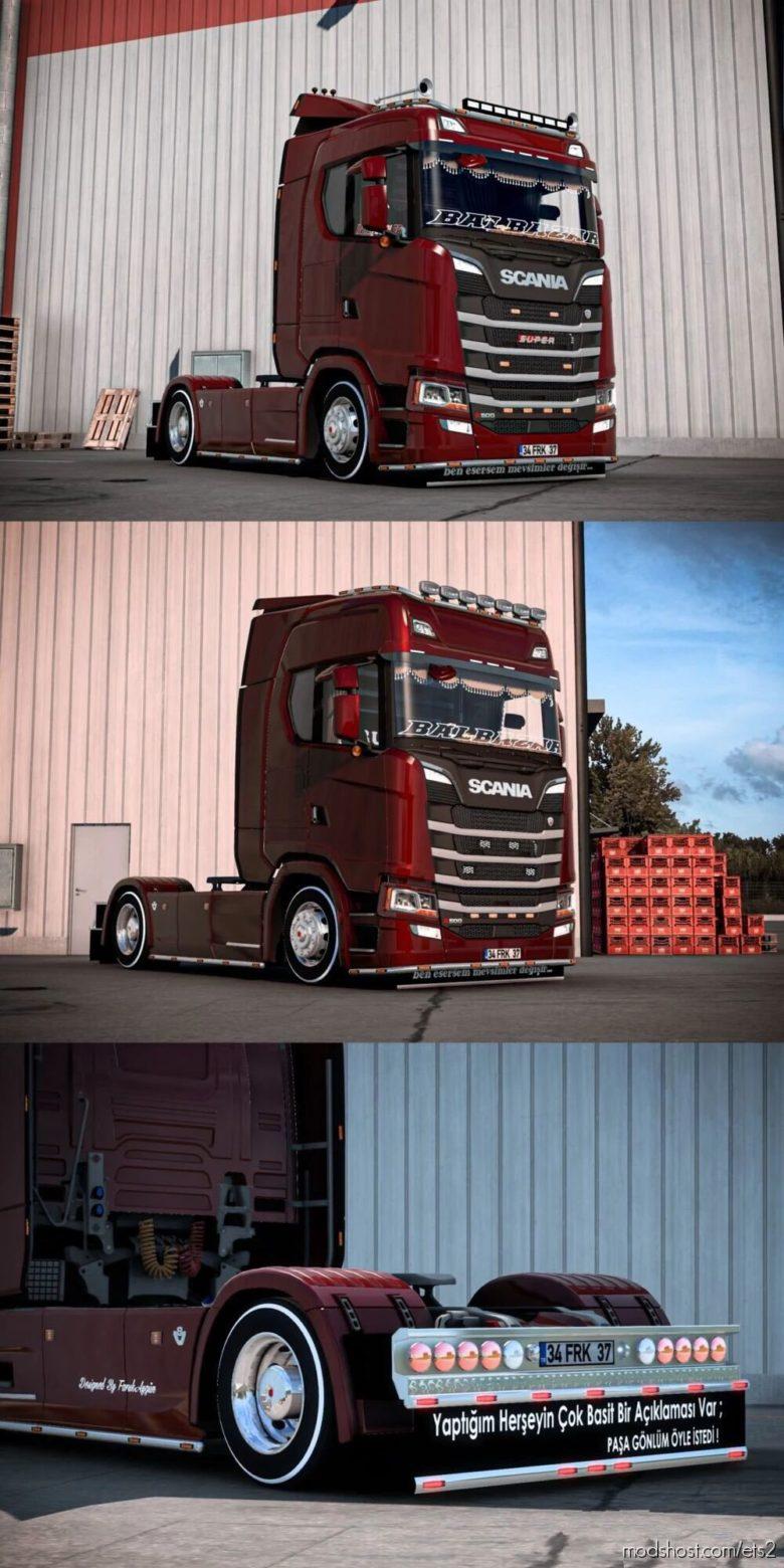 Scania S500 Turkish Edition V1.4 for Euro Truck Simulator 2