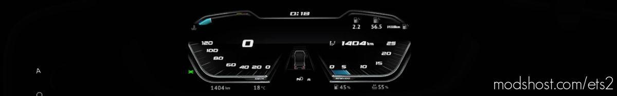 DAF NG 2021 – Computer Dashboard FIX for Euro Truck Simulator 2