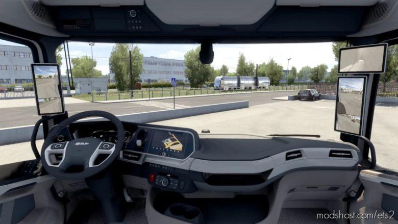 Seat Adjustment No Limits (Interior Multi View Camera) V2.7 for Euro Truck Simulator 2