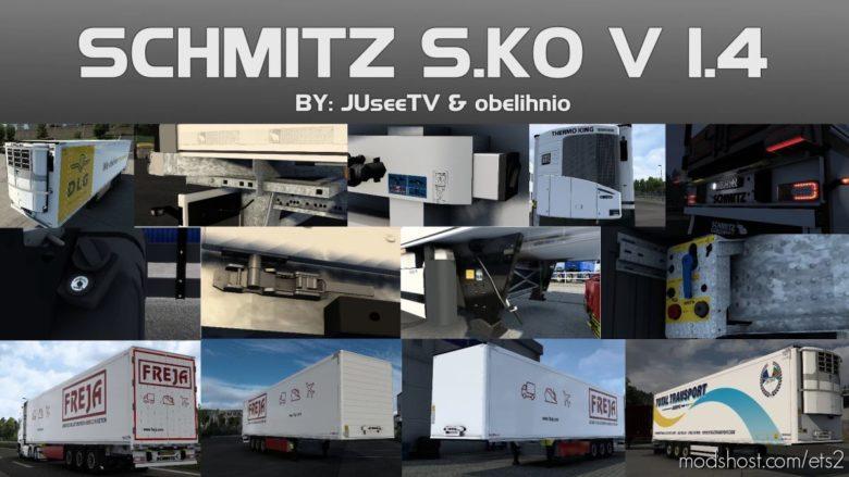Schmitz S.KO By Obelihnio & Juseetv 1.4 [1.40] for Euro Truck Simulator 2