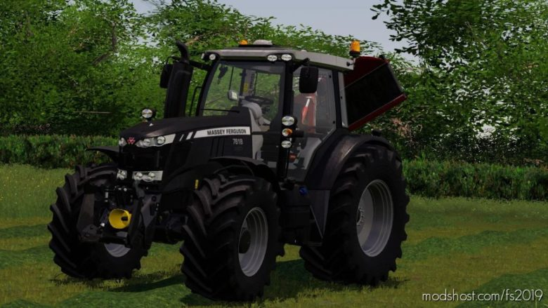 Massey Ferguson 7600 Black Edition for Farming Simulator 19