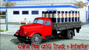 FAW CA-10 V2.0 [1.40] for Euro Truck Simulator 2