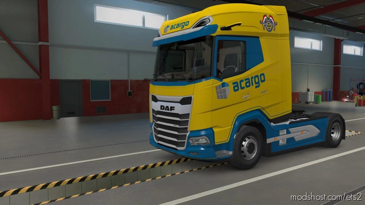Acargo Skin DAF 2021 for Euro Truck Simulator 2