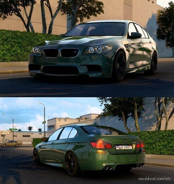 BMW M5 F10 V6.1 [1.40] for American Truck Simulator