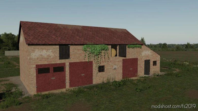 OLD Polish Garage for Farming Simulator 19